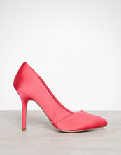 Bianco Coral Red Loafer Pump 100