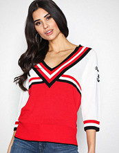 Maison Scotch Combo A Knitted Sportive Top
