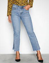 Vila Blå Vimacon Rw 7/8 Jeans