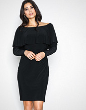 Lauren Ralph Lauren Black Tama Day Dress