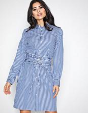 Polo Ralph Lauren Blue/White Long Sleeve Casual Fit Dress