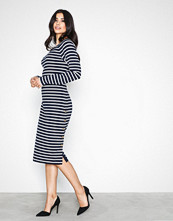 Lauren Ralph Lauren Navy Vespina Dress