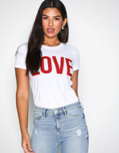 Only White onlRIVA Ss Tee Noos