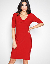 Lauren Ralph Lauren Red Carleton Dress