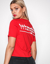 Wrangler True Red Crop Tee