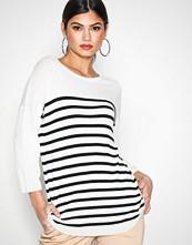 Jacqueline de Yong Hvit Jdycrush 3/4 Pullover Knt Hnn Noos