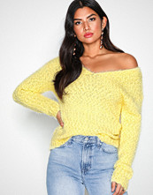 NLY Trend Lys gul Cosy V-Neck