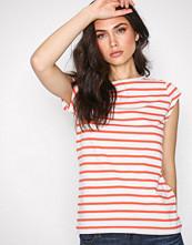 Gant Coral O2. Breton Stripe SS T-Shirt