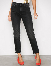 Lee Jeans Denim Mom Straight Punk Deluxe
