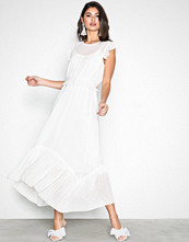 Neo Noir White Gerda Dress