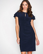 Lauren Ralph Lauren Navy Kolbina Short Sleeve Day Dress