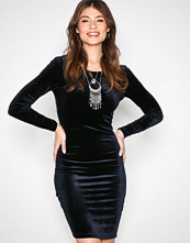 Jacqueline de Yong Mørk blå Jdynaomi L/S Short Dress Jrs