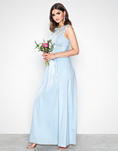 Chi Chi London Blue Bryne Maxi Dress