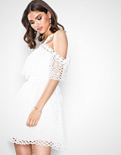Chi Chi London White Norie Dress
