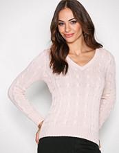 Polo Ralph Lauren Pale Pink Kimberly Long Sleeve Swea