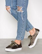 NLY Shoes Grønn Platform Sneaker
