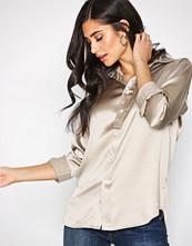 Polo Ralph Lauren Grey Long Sleeve Silk Shirt