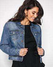 NLY Trend Blå Essential Denim Jacket