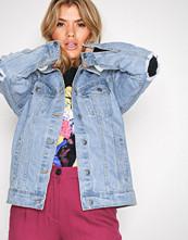 NLY Trend Lys blå Flawless Denim Jacket