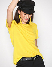 Dagmar Yellow Upama Top