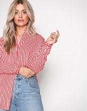 Vero Moda Hvit Vmlizette L/S Long Shirt D2-3
