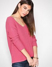 Odd Molly Candy Pink Rib It In Sweater