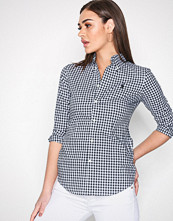 Polo Ralph Lauren Black/White Button Down Slim Shirt