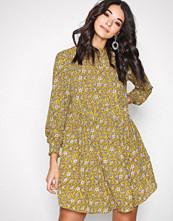 Jacqueline de Yong Gul Jdybase New L/S Smock Dress Wvn