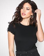 New Look Black Shirred T-Shirt