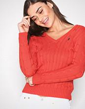 Polo Ralph Lauren Red Kimberly Long Sleeve Swea