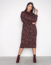 Vero Moda Mønstret Vmkenya L/S Calf Dress SB4