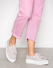 NLY Shoes Light Grey Twist Platform Sneaker