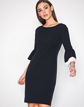 Lauren Ralph Lauren Navy Aragonessa Dress