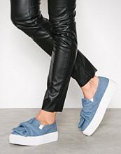 NLY Shoes Denim Twist Platform Sneaker