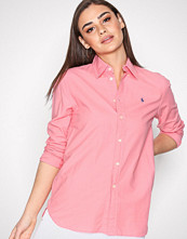 Polo Ralph Lauren Bright Pink Longsleeve Relaxed Shirt