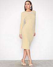 Selected Femme Lys grå Sfeden Ls Rib Dress