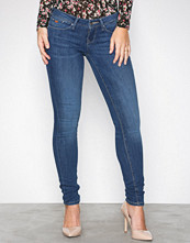 Only Blå onlCORAL Sl Sk Dnm Jeans CRE160353