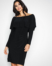 Lauren Ralph Lauren Black Uma Day Dress