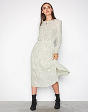 Vero Moda Hvit Vmcate Ls Calf Dress Ga