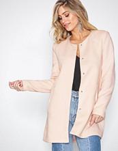 Only Lys rosa onlSIDNEY Light Coat Otw Noos