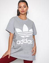 Adidas Originals Grå Big Trefoil Tee