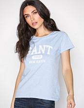 Gant Blue Melange O1. The Summer Logo SS T-Shirt