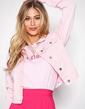 NLY Trend Lys rosa Essential Denim Jacket