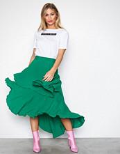 NLY Trend Grønn Summer Frill Skirt