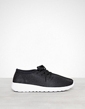 NLY Shoes Svart Knitted Sneaker
