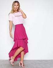 NLY Trend Rosa Summer Frill Skirt