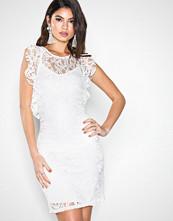 Vero Moda Hvit Vmthea Short Lace Dress Jrs Rep