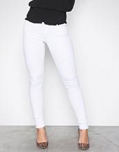 Noisy May Hvit Nmeve Lw S.Slim Jeans White GU501 N