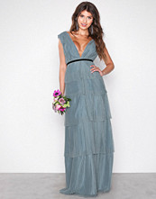 Chi Chi London Blue Adria Maxi Dress