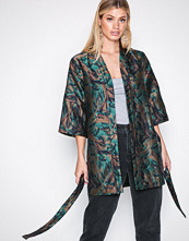 Y.a.s Mørk turkis Yasromi Kimono